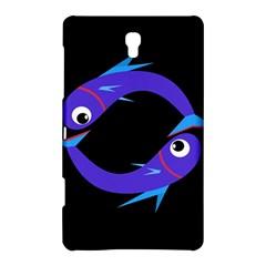 Blue fishes Samsung Galaxy Tab S (8.4 ) Hardshell Case