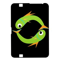Green fishes Kindle Fire HD 8.9