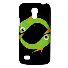 Green fishes Galaxy S4 Mini
