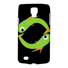Green fishes Galaxy S4 Active