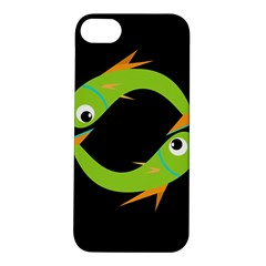 Green fishes Apple iPhone 5S/ SE Hardshell Case