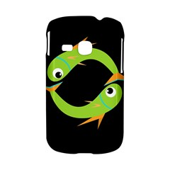 Green fishes Samsung Galaxy S6310 Hardshell Case