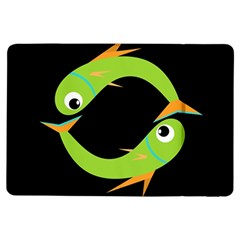 Green fishes iPad Air Flip
