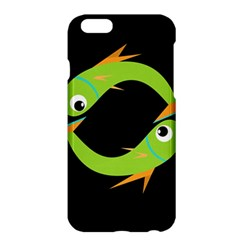 Green fishes Apple iPhone 6 Plus/6S Plus Hardshell Case