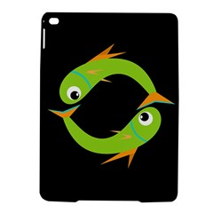 Green fishes iPad Air 2 Hardshell Cases