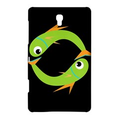 Green fishes Samsung Galaxy Tab S (8.4 ) Hardshell Case