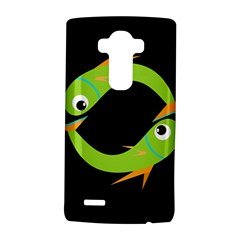 Green fishes LG G4 Hardshell Case