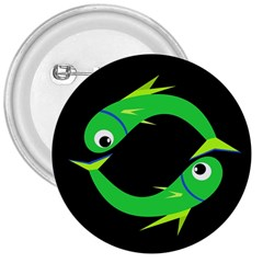Green fishes 3  Buttons