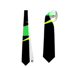 Green fishes Neckties (One Side)