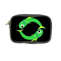 Green fishes Coin Purse