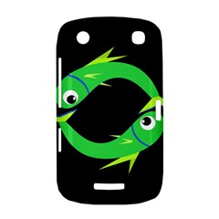 Green fishes BlackBerry Curve 9380