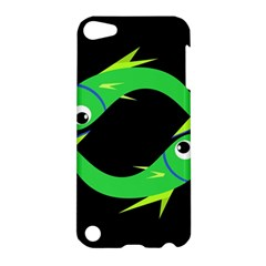 Green fishes Apple iPod Touch 5 Hardshell Case