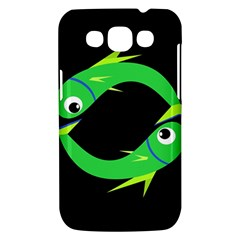 Green fishes Samsung Galaxy Win I8550 Hardshell Case