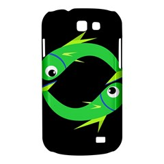 Green fishes Samsung Galaxy Express I8730 Hardshell Case