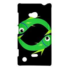 Green fishes Nokia Lumia 720