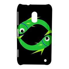 Green fishes Nokia Lumia 620