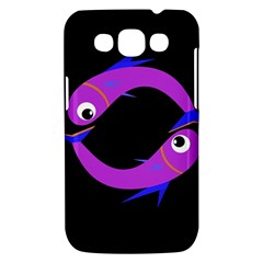 Purple fishes Samsung Galaxy Win I8550 Hardshell Case