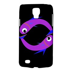 Purple fishes Galaxy S4 Active