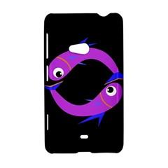 Purple fishes Nokia Lumia 625