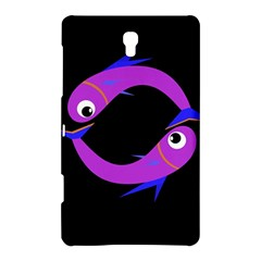 Purple fishes Samsung Galaxy Tab S (8.4 ) Hardshell Case