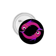 Magenta fishes 1.75  Buttons