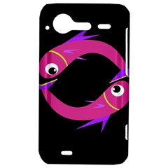 Magenta fishes HTC Incredible S Hardshell Case