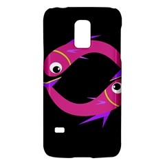 Magenta fishes Galaxy S5 Mini