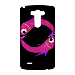 Magenta fishes LG G3 Hardshell Case