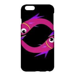 Magenta fishes Apple iPhone 6 Plus/6S Plus Hardshell Case