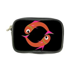 Orange fishes Coin Purse