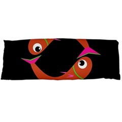 Orange fishes Body Pillow Case (Dakimakura)