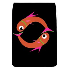 Orange fishes Flap Covers (S)