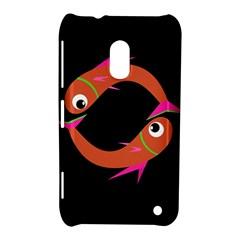 Orange fishes Nokia Lumia 620