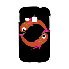 Orange fishes Samsung Galaxy S6310 Hardshell Case