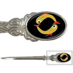 Yellow fishes Letter Openers