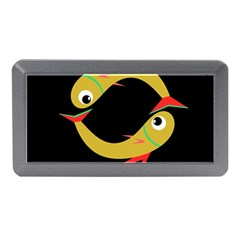 Yellow fishes Memory Card Reader (Mini)