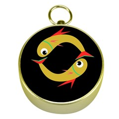 Yellow fishes Gold Compasses
