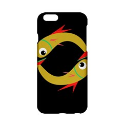 Yellow fishes Apple iPhone 6/6S Hardshell Case