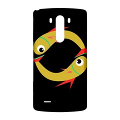 Yellow fishes LG G3 Back Case