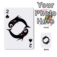 Black fishes Playing Cards 54 Designs