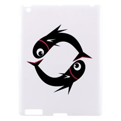 Black Fishes Apple Ipad 3/4 Hardshell Case