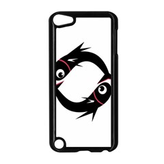 Black fishes Apple iPod Touch 5 Case (Black)