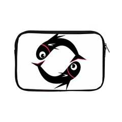 Black fishes Apple iPad Mini Zipper Cases