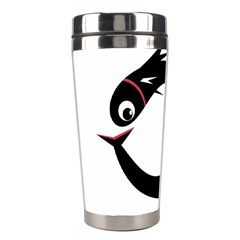 Black fishes Stainless Steel Travel Tumblers