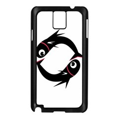 Black Fishes Samsung Galaxy Note 3 N9005 Case (black)