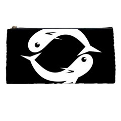 White fishes Pencil Cases