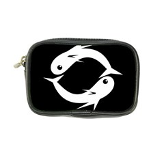 White fishes Coin Purse