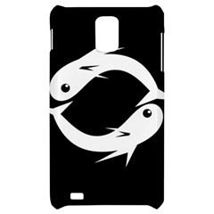 White fishes Samsung Infuse 4G Hardshell Case