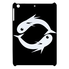 White fishes Apple iPad Mini Hardshell Case