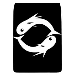 White fishes Flap Covers (S)